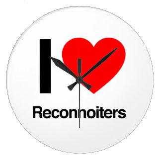 i love reconnoiters clock