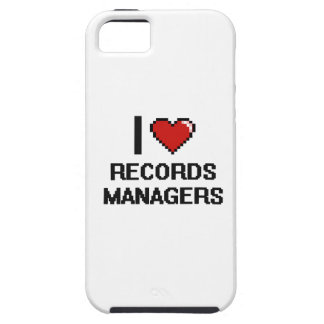 I love Records Managers iPhone 5 Case