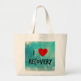I love Recovery Large Tote