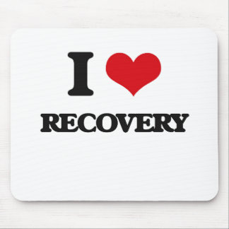 I Love Recovery Mouse Pad