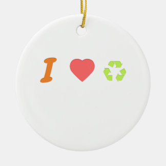 I love recycling ceramic ornament
