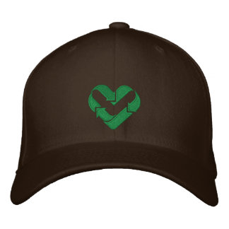 ♥ I love recycling ♥ Embroidered Hats