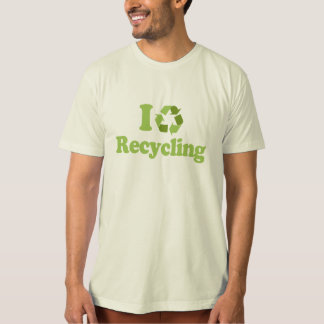I Love recycling T-shirt / Earth Day T-shirt