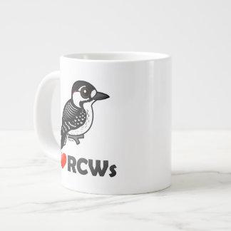 I Love Red-cockaded Woodpeckers Large Coffee Mug