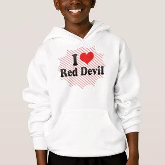 I Love Red Devil Hoodie