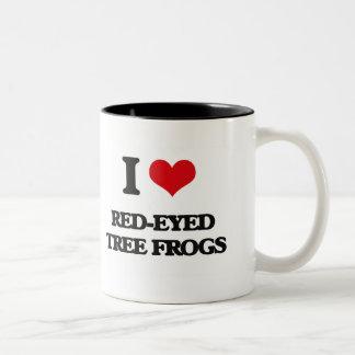 I love Red-Eyed Tree Frogs Coffee Mug