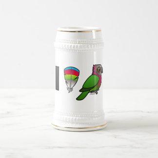 I Love Red-fan Parrots Coffee Mug