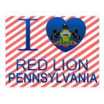 I Love Red Lion, PA Postcard