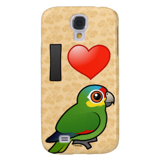 I Love Red-lored Amazons Samsung Galaxy S4 Cover