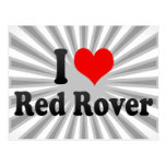 I love Red Rover Post Cards