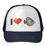 I Love Red Sea Sailfin Tang Mesh Hats