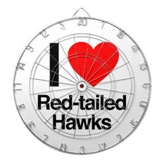 i love red-tailed hawks dart board