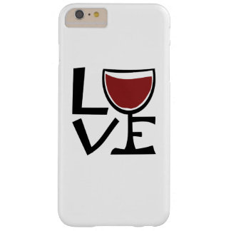 I love red wine drinker barely there iPhone 6 plus case