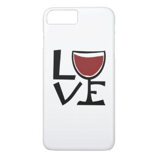 I love red wine drinker iPhone 7 plus case