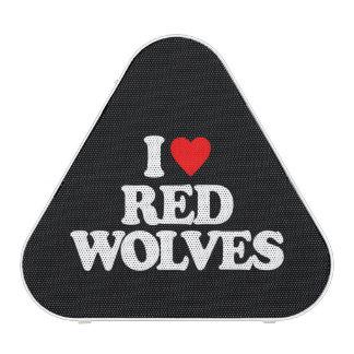 I LOVE RED WOLVES SPEAKER