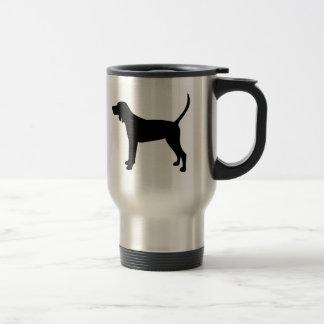 I Love Redbone Coonhounds Travel Mug