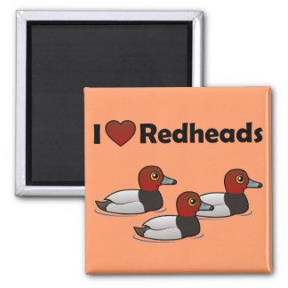 I Love Redheads Magnet