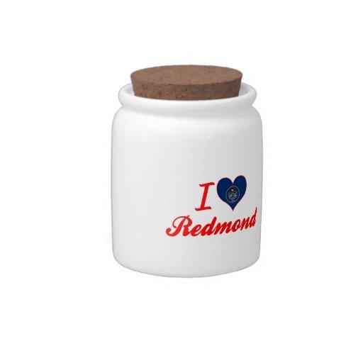 I Love Redmond, Utah Candy Jar