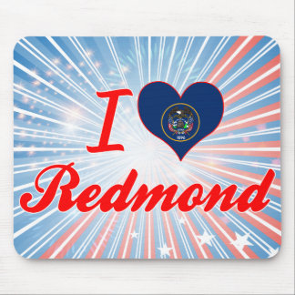 I Love Redmond, Utah Mouse Pad
