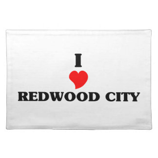 I love Redwood City Cloth Placemat