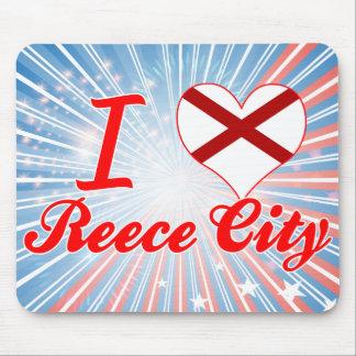 I Love Reece City, Alabama Mouse Pad