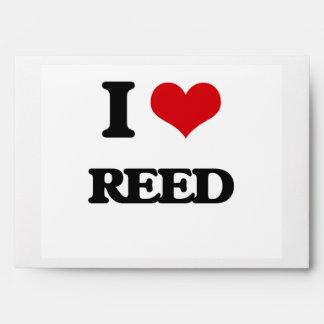 I Love Reed Envelopes