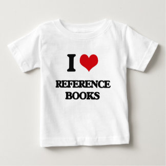 I Love Reference Books Tee Shirt