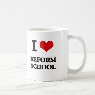 I Love Reform School Coffee Mug