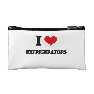 I Love Refrigerators Makeup Bag
