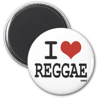 I love reggae refrigerator magnets