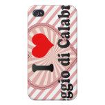 I Love Reggio di Calabria, Italy Case For iPhone 4