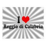 I Love Reggio di Calabria, Italy Postcard