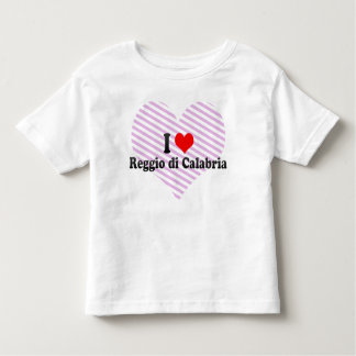 I Love Reggio di Calabria, Italy Tee Shirt