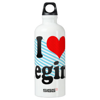 I love Regina Aluminum Water Bottle