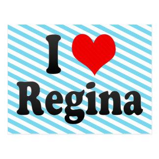 I Love Regina, Canada Postcard