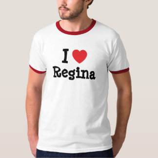 I love Regina heart T-Shirt