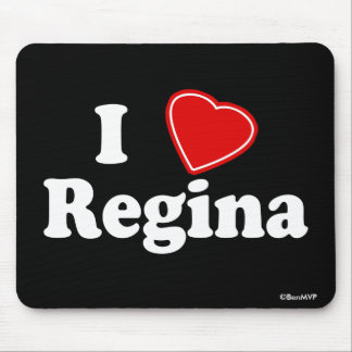 I Love Regina Mouse Pad