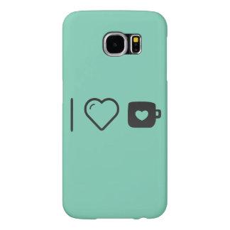 I Love Regular Coffee Samsung Galaxy S6 Cases