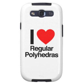 i love regular polyhedras galaxy SIII cases