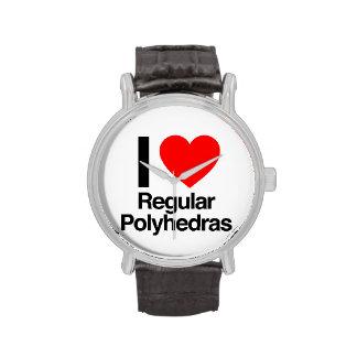 i love regular polyhedras wrist watches