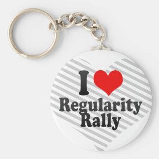 I love Regularity Rally Key Chains