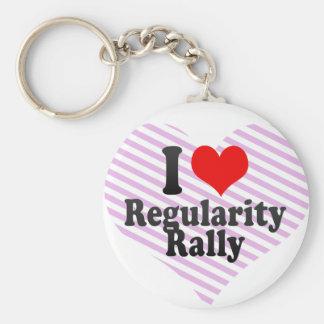 I love Regularity Rally Key Chain