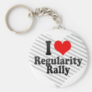 I love Regularity Rally Keychain