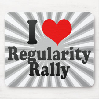 I love Regularity Rally Mouse Pad