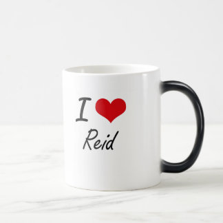 I Love Reid 11 Oz Magic Heat Color-Changing Coffee Mug
