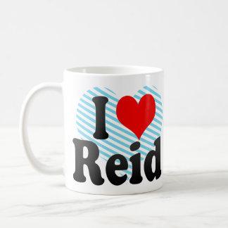 I love Reid Classic White Coffee Mug