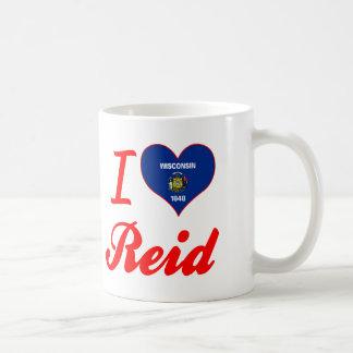 I Love Reid, Wisconsin Classic White Coffee Mug