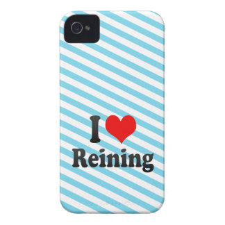 I love Reining iPhone 4 Case-Mate Case