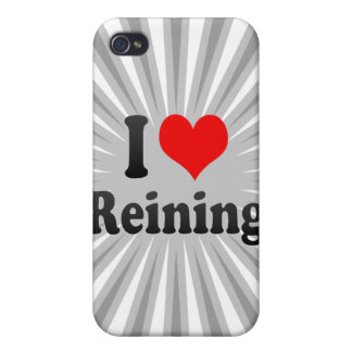 I love Reining iPhone 4/4S Covers