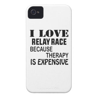 I Love Relay Race Because Therapy Is Expensive iPhone 4 Case